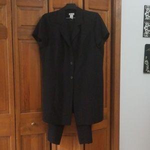 Monroe & Main black dress suit size 22W